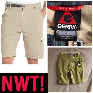 NWT! MENS GERRY VENTURE CARGO SHORTS